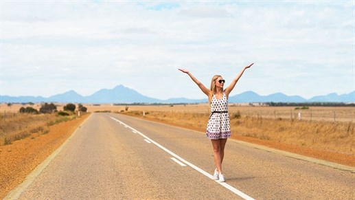 Go on a road trip in Australia