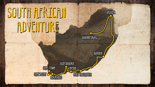 Roadtrip Zuid-Afrika