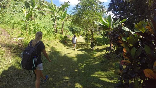Hiken in Fiji