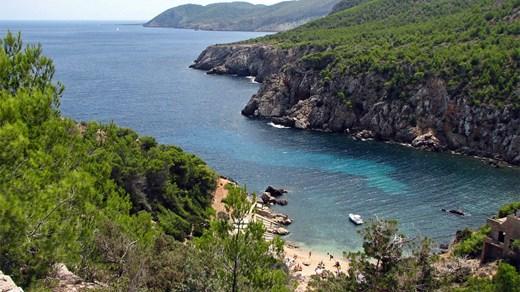 Ibiza is natuurlijk 'the place to be'  in Spanje