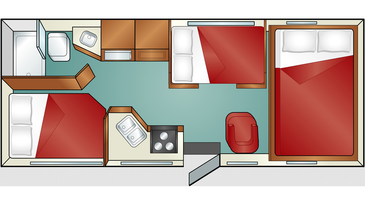 Cruise America Large Rv Bed Size