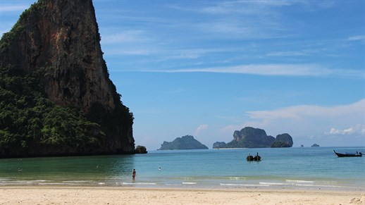 Railay Beach bij Krabi